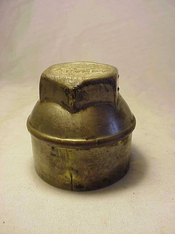 Old Chevy Wheel Grease Caps : C s vintage brass chevrolet chevy automobile bowtie