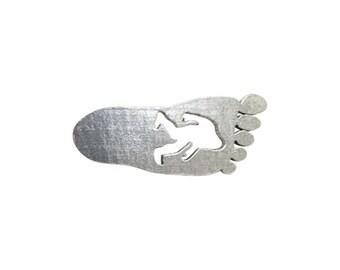 Bigfoot / Sasquatch Footprint ~ Refrigerator Magnet ~ A175M