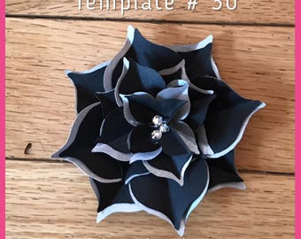 Large Paper Flower Template # 30