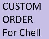 Custom Order: 1000 Light Blue & Silver Cranes