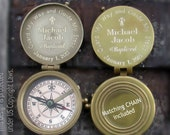 Baptism Gift Boy, Engraved Compass, Boy Baptism Gift, Baptism Gift, Confirmation Gift  Boy, Personalized Compass, Compass, Baptism Compass