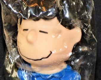 "1966 Peanuts ""Lucy"" Vinyl Squeak Dog Toy"