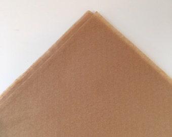 Kraft Tissue Paper Sheets, Bulk Kraft Tissue Paper,  Beige Premium Kraft Tissue Paper, Large Kraft Tissue Paper
