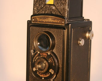 Voightlander Brilliant Camera Working