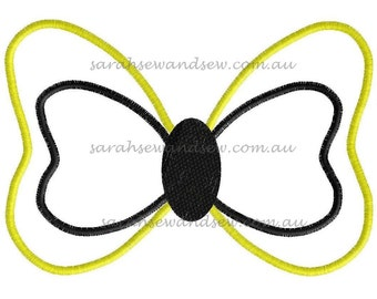 Emma 's Bow The Wiggles Embroidery Design