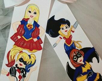 Boutique Girl Power Superhero Hairbow
