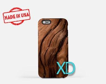 Wood iPhone Case, Tree iPhone Case, Wood iPhone 8 Case, iPhone 6s Case, iPhone 7 Case, Phone Case, iPhone X Case, SE Case Protective