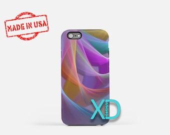 Pastel Bows iPhone Case, Swirls iPhone Case, Pastel Bows iPhone 8 Case, iPhone 6s Case, iPhone 7 Case, Phone Case, iPhone X Case, SE Case