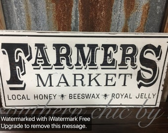 Farmers Market Hand Painted sign