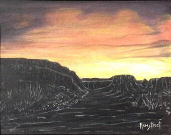 Sedona Sunrise Original