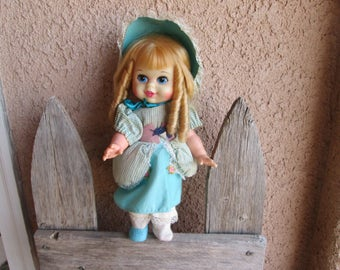 Little Bo Peep Talking Doll -MATTEL-Storybook