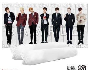 BTS Bangtan Boys Body Pillow Case Version 1