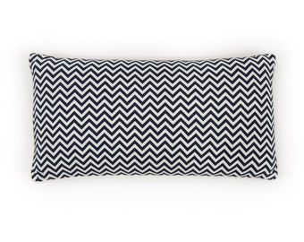Indigo Chevron Pillow