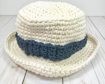 Baby hat, crochet hat, sun hat, boys hat, boys sun hat