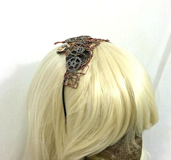 Wire Wrap Steampunk Headband