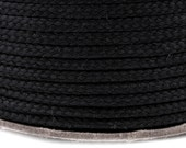 2 m long polyester Twine - cord, Ø 4 mm in 5 colours