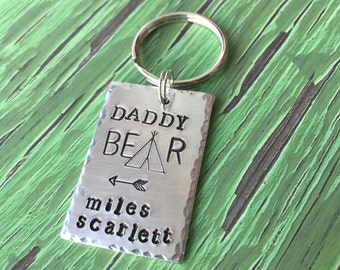 Mama bear necklace, momma bear necklace, Mothers day necklace, bear becklace, family necklace, mama bear necklace, daddy bear keychain