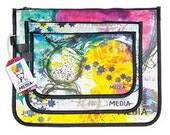 Dina Wakley Designer Accessory Bag Set of 3