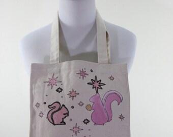 Canvas Squirrel Bag FREE SHIPPING