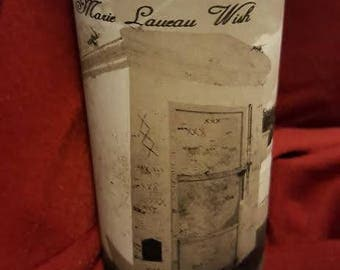 Marie Laveau Wish Candle, Tomb Spiritual, Candle , 7 day, Candle,Altar, Ritual, Wiccan, Hoodoo, Voodoo, Pagan