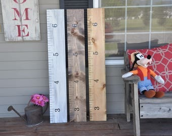 8000+ Sold! Keepsake Rulers  Mini-size growth chart rulers for measuring kids' height!