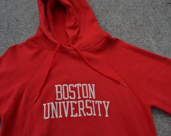Bangin' Vintage 80's Boston University Champion Brand Hoodie