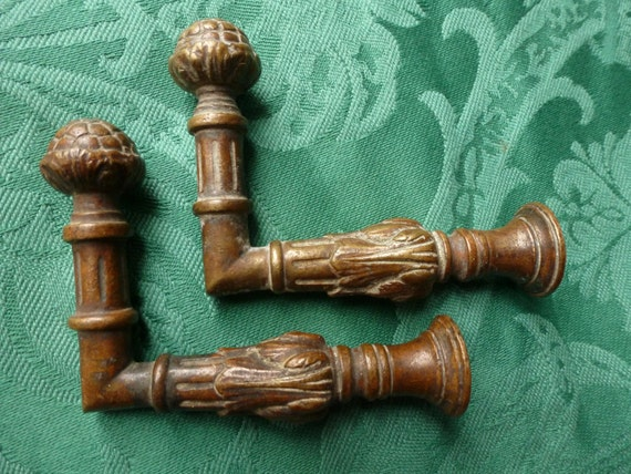 Items Similar To Antique French Bronze Curtain Hold Back