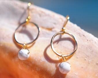 Handmade 14k gold filled earrings