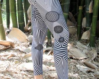 flower of life yoga leggings, sacred geometry , yoga leggings , boho yoga leggings , galactic seed leggings , leggings , yoga leggings