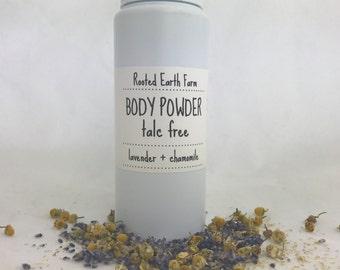 Herbal Body Powder - All Natural Baby Powder - Talc Free - Natural Body Powder - Organic Baby Powder - Talc Free Powder