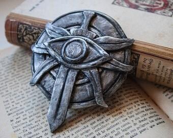 Dragon Age Leliana Emblem - Flat Back, Dragon Age Inquisition Emblem, Leliana cosplay, Leliana Brooch, Resin replica, videogame, larp