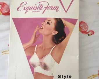 NOS 1950s bullet bra 36c exquisite form