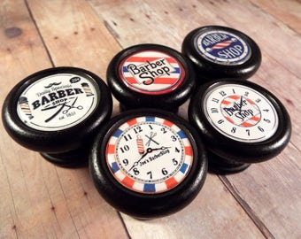 Vintage Barber Shop Decorative Cabinet Knobs...Price is for 1 Knob (Quantity Discounts Available!)