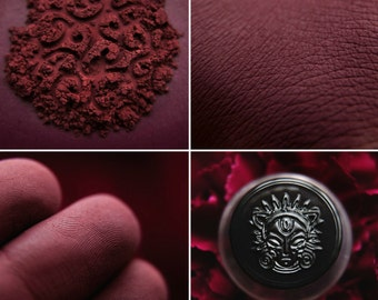 Eyeshadow: Submit to Ardour- Dark Castle. Marsala matte eyeshadow by SIGIL inspired.
