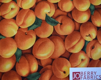Apricots from the Farmers Market Collection by RJR.  Quilt or Craft Fabric, Fabric by the Yard.
