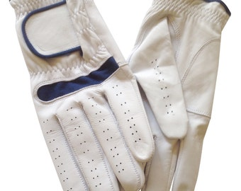 Real Leather Golf Glove   Left or Right Hand