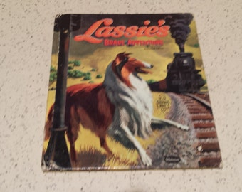 Whitman Publishing Lassie Book 1958