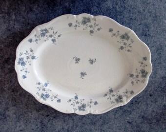 Johann Haviland Traditions Blue Garland 13-Inch Serving Platter