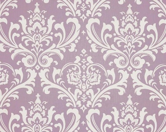 Shower Curtains // Ozbourne Damask // Wisteria and White // Stall // Extra Long Shower Curtains // Wide Shower Curtains