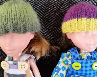 Wool Hats for 9 inch Doll