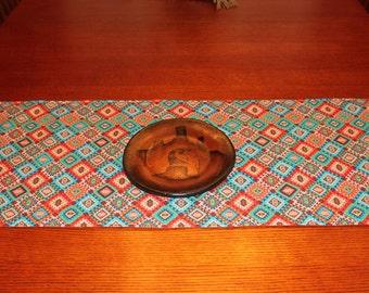 Southwestern Table Runner - Reversible