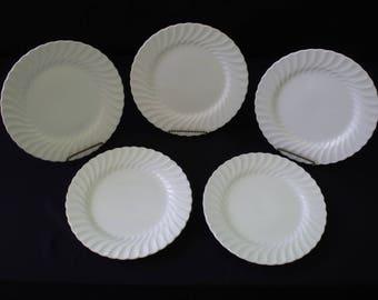 Johnson Brothers Regency White Dinner Plate set of 5