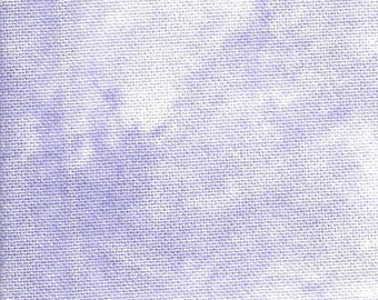 Reflections Lavender Sparkle 28 Count Lugana Counted Cross Stitch Cloth 12 x 14 inches Silkweaver Hand Dyed Fabrics Purple Needlework Fabric