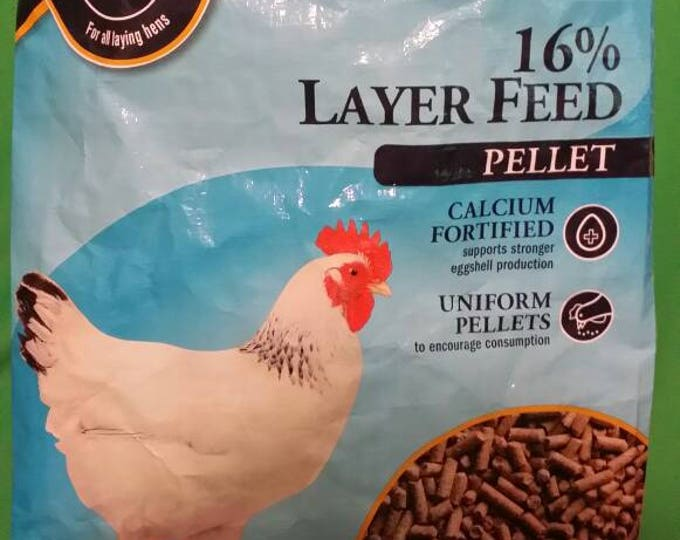 Recycled Feed Bag Tote, Dumor Chicken Layer Feed