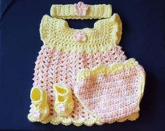 Lemon & Peach Sherbet Infant Set