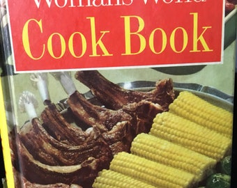 Woman's world cookbook, vintage cookbook