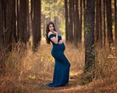 Audrey Gown • Fitted Maternity Gown • Short Sleeve Maternity Gown • Sweetheart Maternity Gown • Bridesmaid Maternity •Maternity Photo Shoot