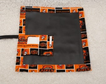 OSU, Travel Chalkboard, Chalkboard Mat, Roll Up Chalkboard, Child Chalkboard, Kid Chalkboard, Lap Chalkboard, Chalkboard, Quiet Book