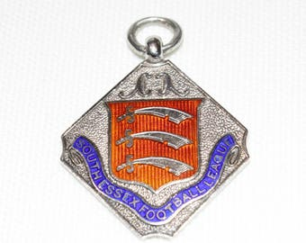 Sterling Silver and Enamel Medal