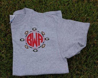Georgia Bulldogs Monogram T'shirt